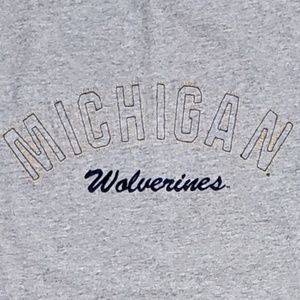 👕EUC👕 Michigan Wolverines 100% Cotton Tshirt